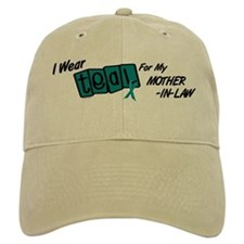 I Wear Teal 8.2 (Mother-In-Law) Baseball Cap