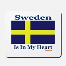 Sweden - Heart Mousepad
