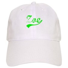 Vintage Zoe (Green) Baseball Cap