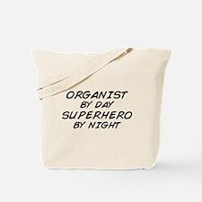Organist Superhero by Night Tote Bag