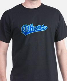 Retro Athens (Blue) T-Shirt