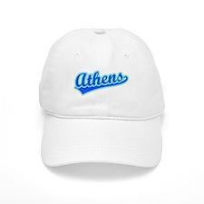 Retro Athens (Blue) Baseball Cap
