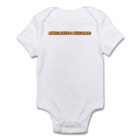 Attractive Nuisance (hot) Infant Bodysuit
