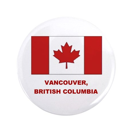 "Vancouver Can Flag 3.5"" Button (100 pack)"
