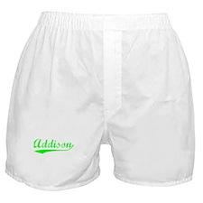 Vintage Addison (Green) Boxer Shorts