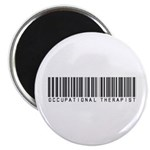 Occupational Therapist Barcode Magnet