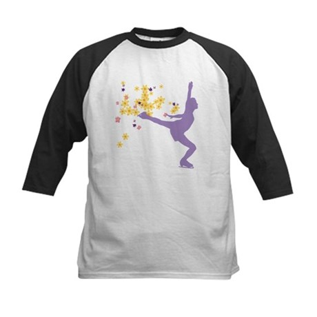 Skating Kid Kids Baseball Jersey