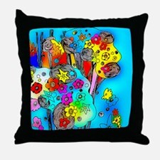Cute Sukkot Throw Pillow