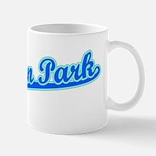 Retro Baldwin Park (Blue) Mug