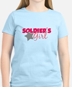 Soldier's Girl (Pink) T-Shirt