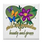 Beautiful Grandmother Tile Coaster