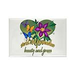Beautiful Grandmother Rectangle Magnet (10 pack)