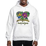 Beautiful Grandmother Hooded Sweatshirt