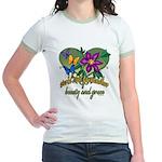 Beautiful Grandmother Jr. Ringer T-Shirt