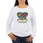 Beautiful Grandmother Women's Long Sleeve T-Shirt