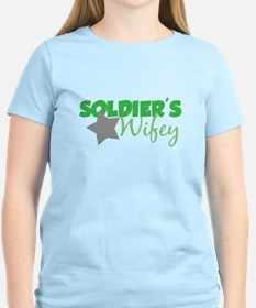 Soldier's Wifey (Green) T-Shirt