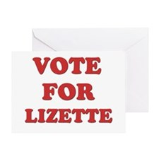 Vote for LIZETTE Greeting Card