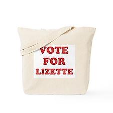Vote for LIZETTE Tote Bag