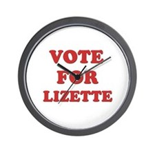 Vote for LIZETTE Wall Clock