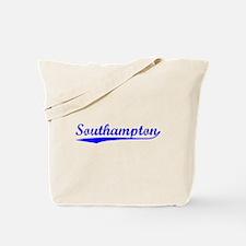 Vintage Southampton (Blue) Tote Bag