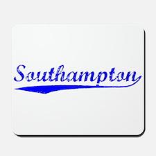 Vintage Southampton (Blue) Mousepad