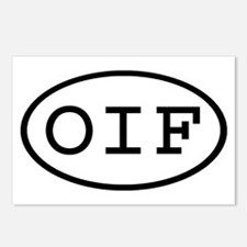 OIF Oval Postcards (Package of 8)