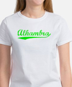 Vintage Alhambra (Green) Women's T-Shirt
