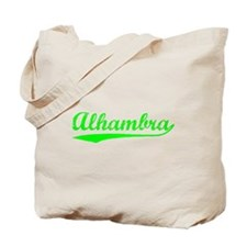 Vintage Alhambra (Green) Tote Bag
