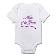 Niece of the Groom Infant Bodysuit