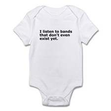 I Listen To Bands Infant Bodysuit