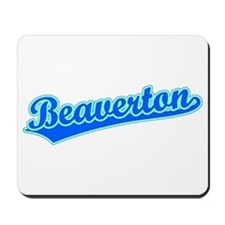 Retro Beaverton (Blue) Mousepad