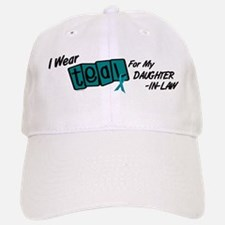 I Wear Teal 8.2 (Daughter-In-Law) Baseball Baseball Cap