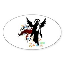 Divine Intervention Oval Decal
