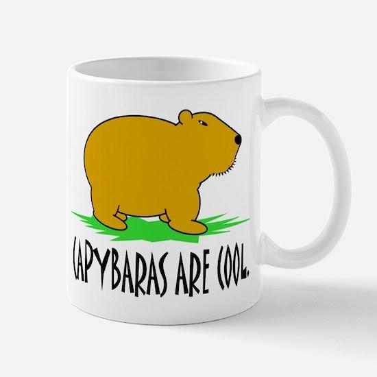 CAPYBARAS ARE COOL. Mug