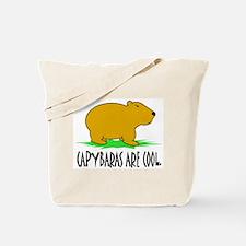 CAPYBARAS ARE COOL. Tote Bag