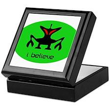 ALIEN I BELIEVE Keepsake Box