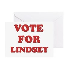 Vote for LINDSEY Greeting Cards (Pk of 20)