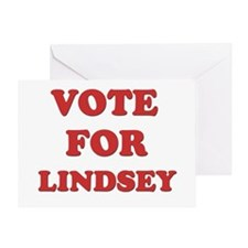 Vote for LINDSEY Greeting Card