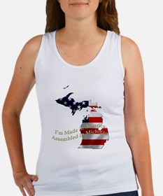 Funny Stars and stripes Women's Tank Top