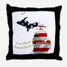 Cute Made in usa Throw Pillow