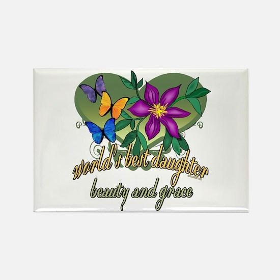 Beautiful Daughter Rectangle Magnet (100 pack)