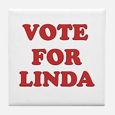 Vote for LINDA Tile Coaster