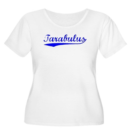 Vintage Tarabulus (Blue) Women's Plus Size Scoop N