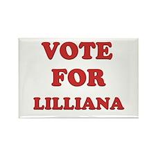 Vote for LILLIANA Rectangle Magnet