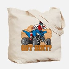 Got Dirt ATV Tote Bag