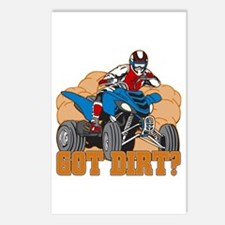 Got Dirt ATV Postcards (Package of 8)