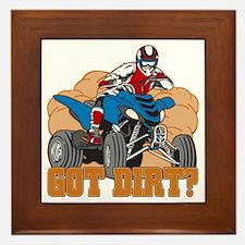 Got Dirt ATV Framed Tile
