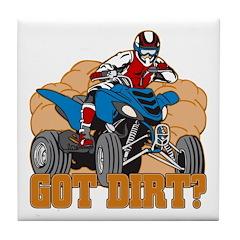 Got Dirt ATV Tile Coaster