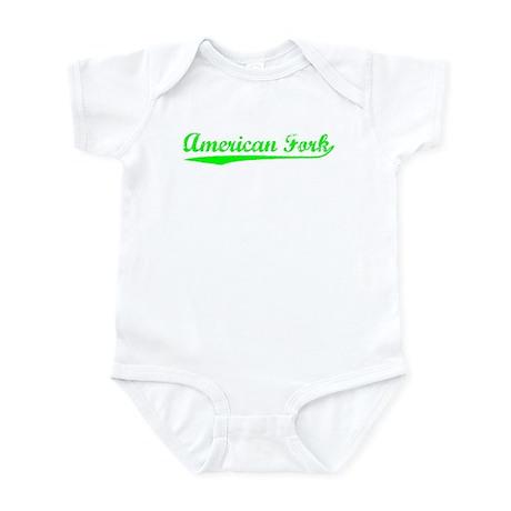 Vintage American F.. (Green) Infant Bodysuit