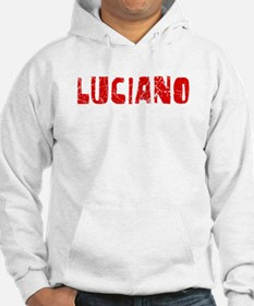 Luciano Faded (Red) Hoodie